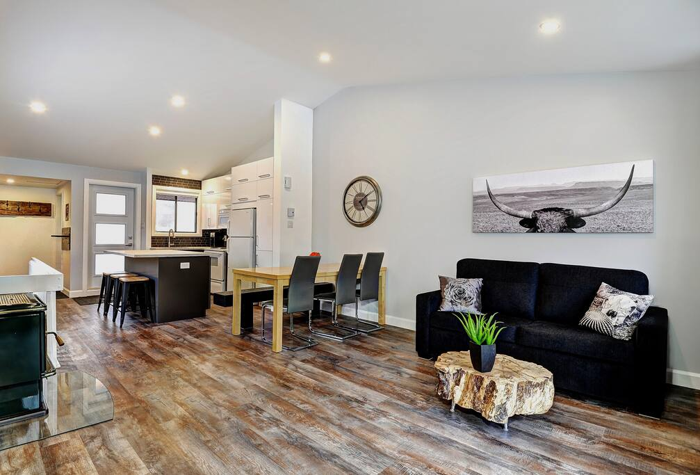 Cottages for rent for 6 people in Quebec #12