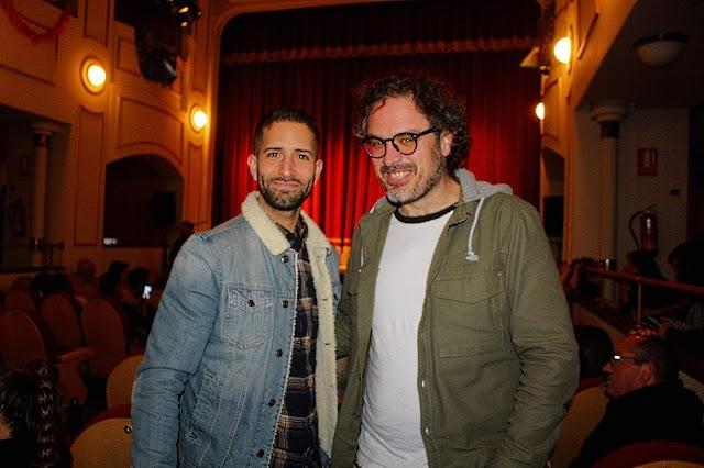Pakillo Sánchez y José Ramón Suárez.