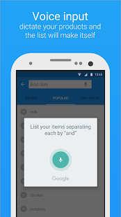 Smart Shopping List - Listonic- screenshot thumbnail