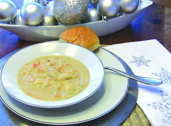 Creamy Turkey Soup...left Over Special Recipe