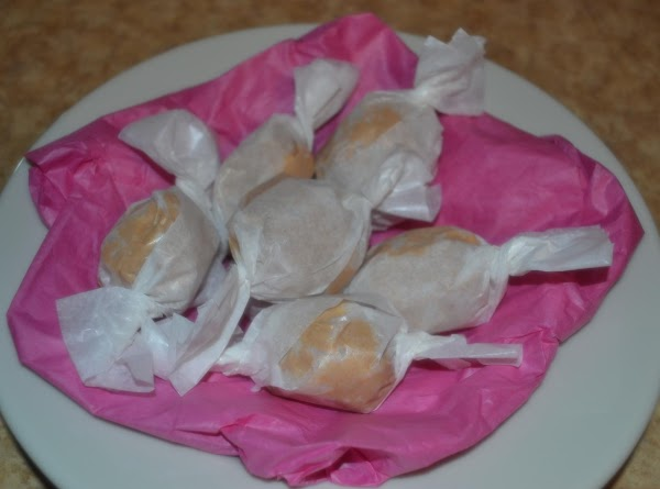 Makes 25-30 candies, chocolate dipper and/OR wrapped.