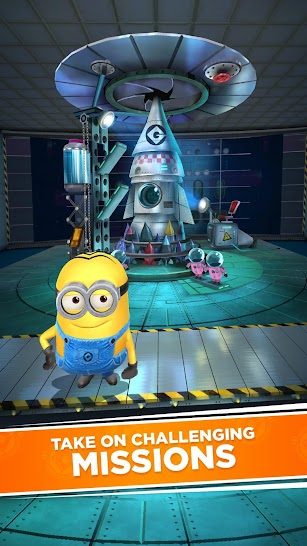 Minion Rush: Despicable Me Official Game screenshot for Android