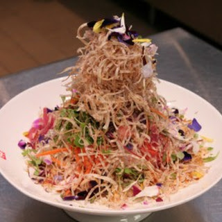 Singapore Slaw With Salted Plum Dressing