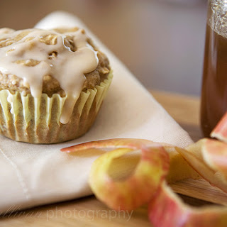 Low-Fat Apple Spice Walnut Muffins