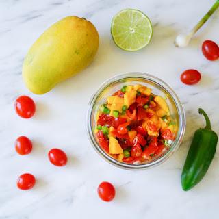 5 Ingredient Mango Salsa Recipe