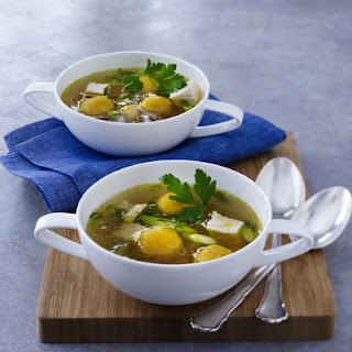 Chicken Soup with Dumplings.