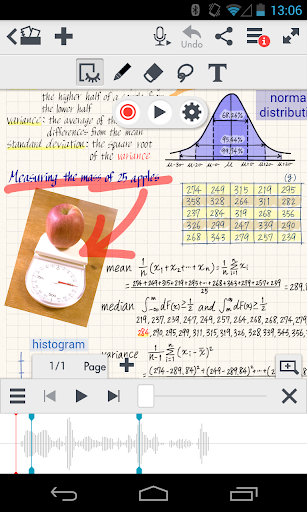 MetaMoJi Note screenshot