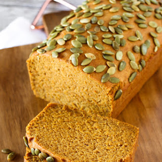 Gluten Free Vegan Pumpkin Spice Bread
