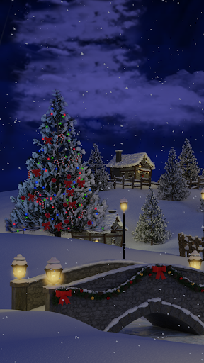 Christmas Village Live Wallpaper screenshot 6