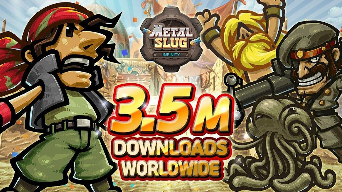 Metal Slug Infinity: Idle Role Playing Game Android App Screenshot