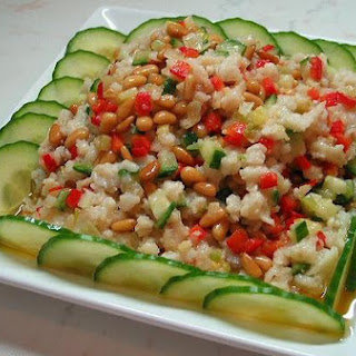Fish Cubes And Pine Nuts / 松仁鱼米.