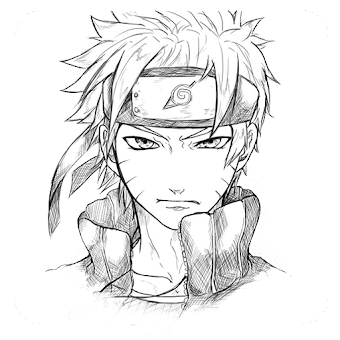 Download How To Draw Naruto Characters Step By Step on PC