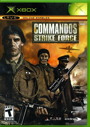 Video game:Microsoft Xbox Commandos: Strike Force