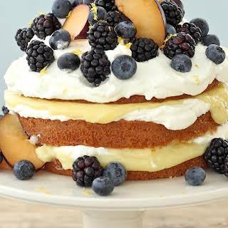 Vanilla Pound Cake with.