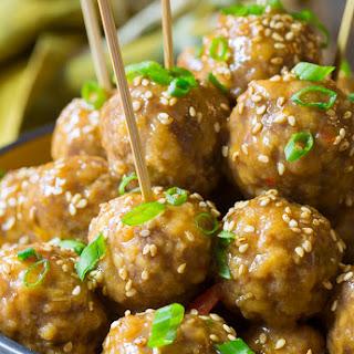 Slow Cooker Asian Meatballs