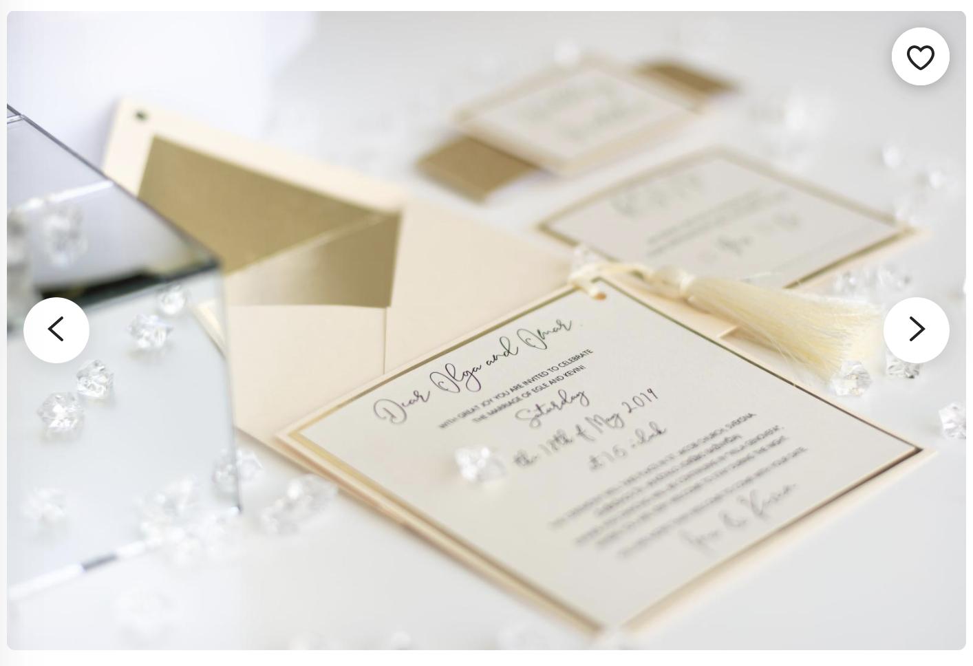 ivory invitation
