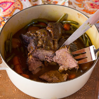 Savory Grass Fed Pot Roast
