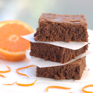 Mocha-Orange Brownies