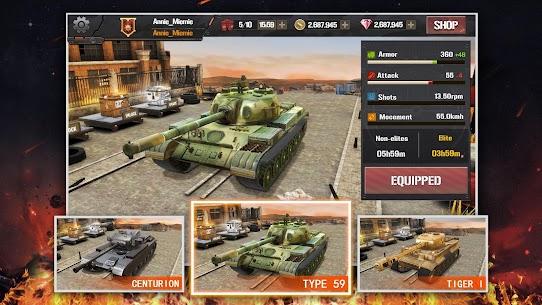 Furious Tank: War of Worlds_1st Anniversary 4