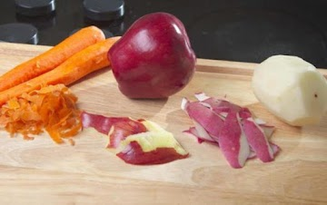 How To Skin Carrots, Potatoes And Apples Recipe