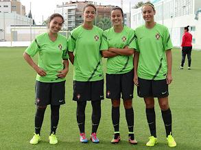 Photo: Carolina Ferreira, Sofia Silva, Matilde Figueiras e Cláudia Tecedeiro (foto GDFADF)