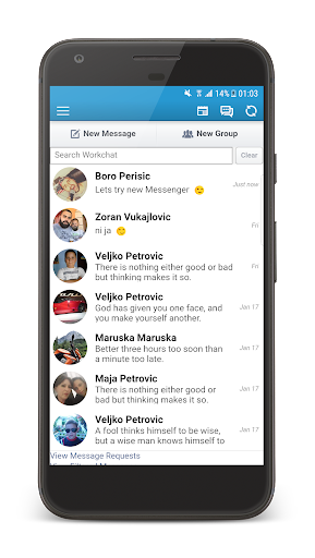 Inbox Messenger Lite screenshot 6