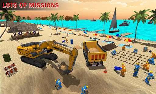 House Construction Beach Building Sim 1.1 screenshots hack proof 1