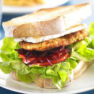 Turkey Schnitzel Sandwiches
