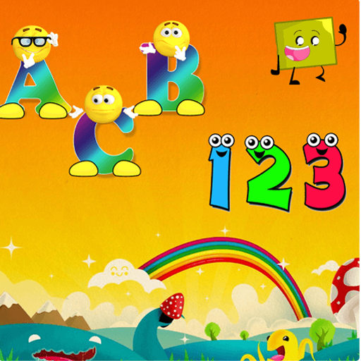 Learn abcd and 123 for kids