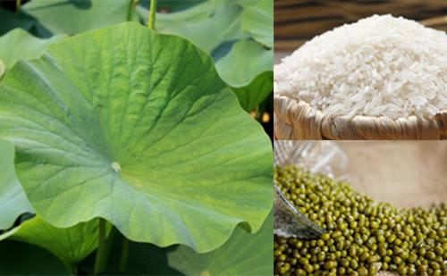 Cháo lá sen có tác dụng thanh nhiệt giải độc, an thần, và giảm béo, chống lại béo phì