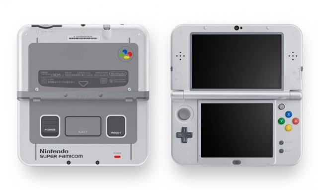 New Nintendo 3DS edición especial Super Famicom