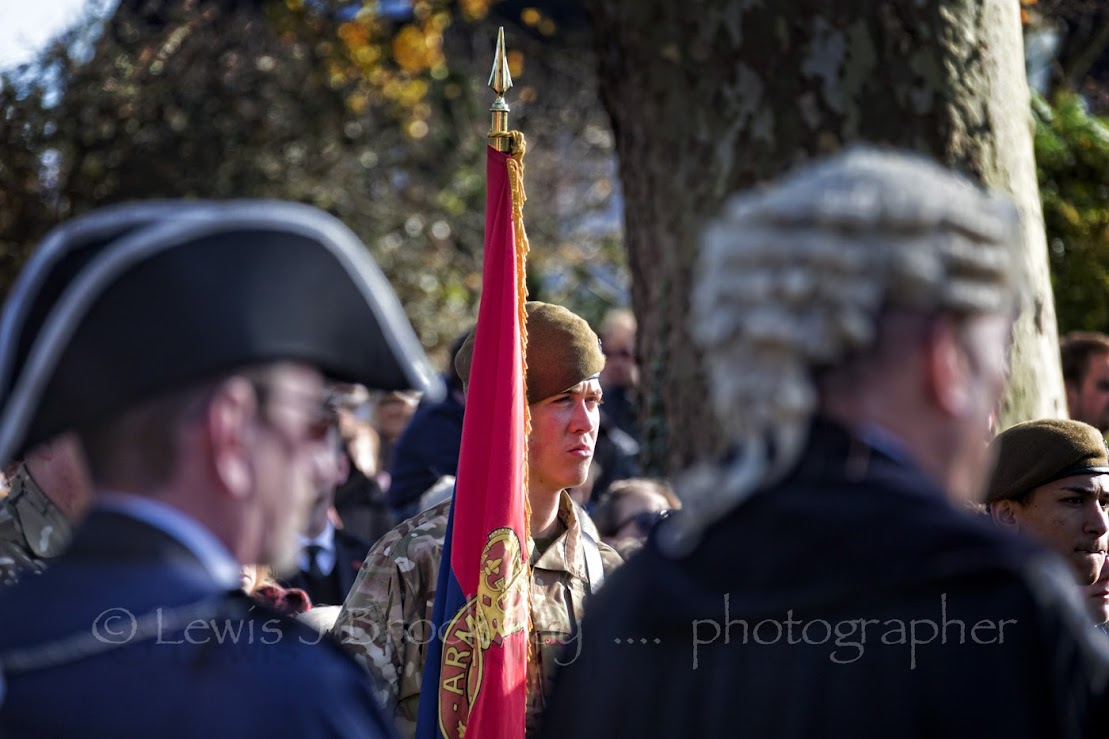 Remembrance Sunday Parade and Service Tenterden 2016