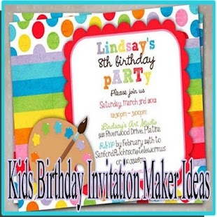 Kids Birthday Invitation Maker Ideas Android Apps On Google Play - Birthday invitation apps
