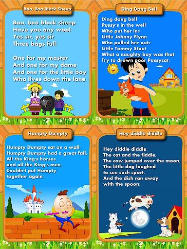 Cute Nursery Rhymes For Kids
