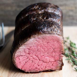 Sous Vide Beef Tenderloin with Port Wine and Garlic Recipe