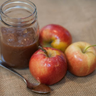Small Batch Spiced Maple Apple Butter.