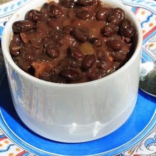 El Pollo Loco BBQ Black Beans.