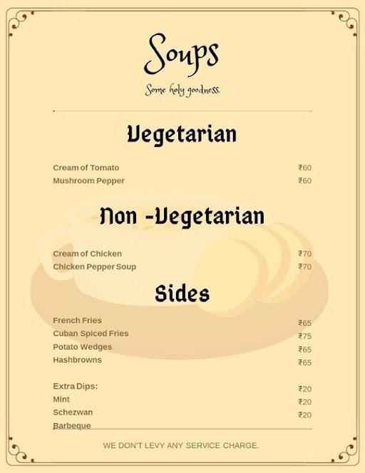 Cubanos menu 4
