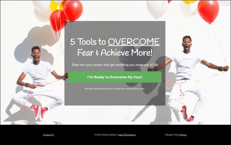 5 Tools To Overcome Fear