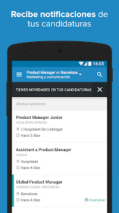 InfoJobs - Job Search- screenshot thumbnail
