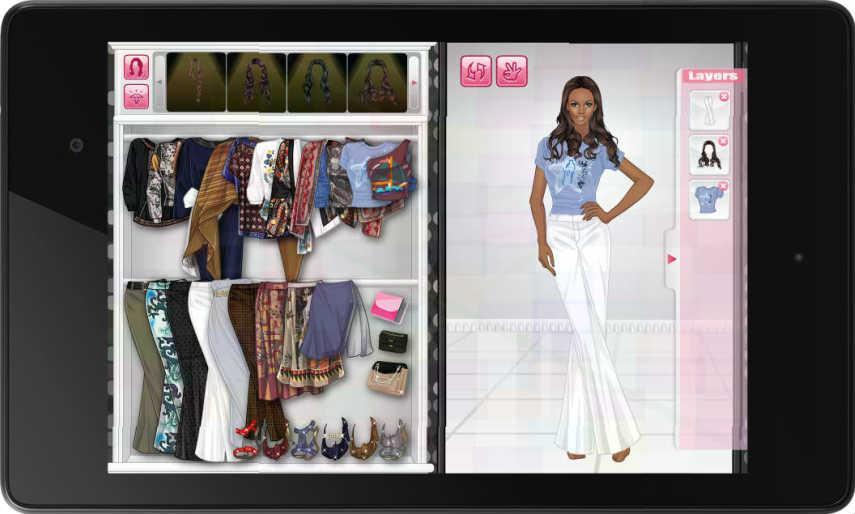 Louella Sweet Dress Up Screenshot