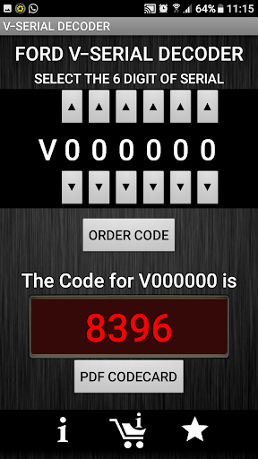 V-Serial Radio Code Decoder  screenshots 3