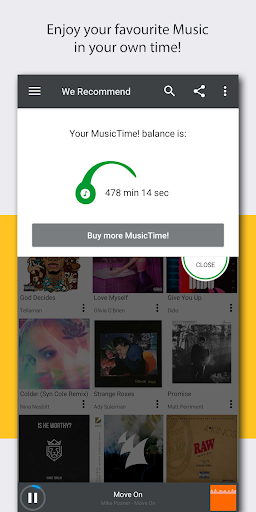 MusicTime! Time based music streaming for MTN 1.1.1 screenshots 2
