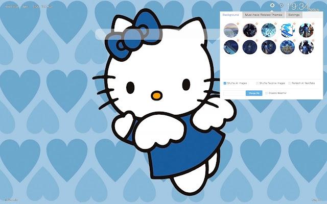 Hello Kitty HD Wallpapers New Tab