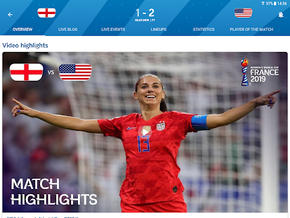 FIFA - Tournaments, Soccer News & Live Scores - Apps on