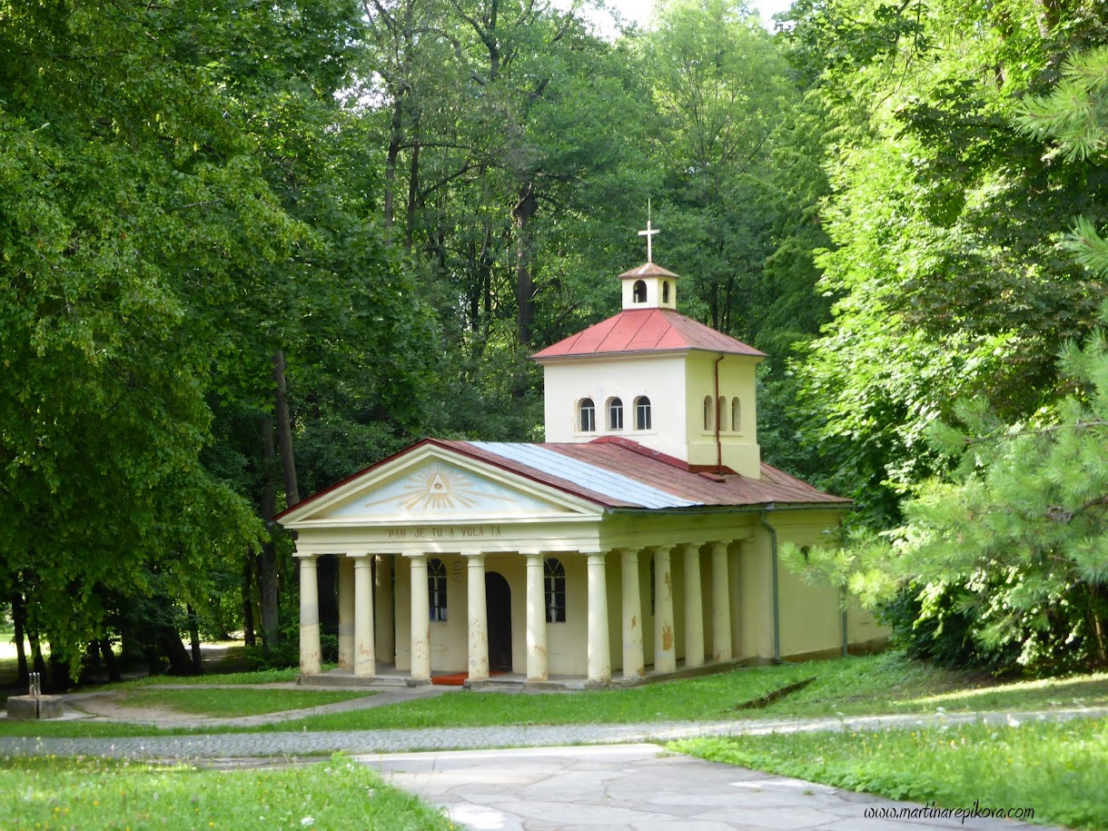 A small chapel in spa town Sliac, Slovakia