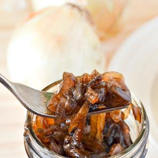 Sweet Balsamic Onion Relish Recipe.
