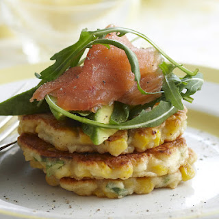 Corn and Ricotta Fritters.