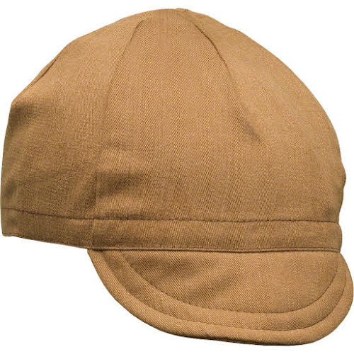 Pace Traditional Cycling Cap Brushed Twil Nutmeg