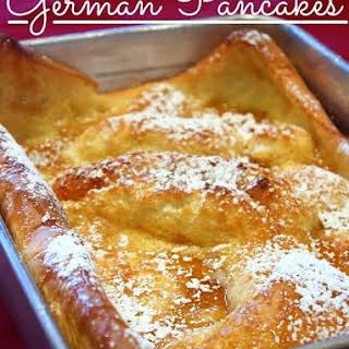 German Pancakes.